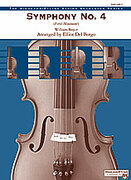 Cover icon of Symphony No. 4, 1st Movement (COMPLETE) sheet music for string orchestra by William Boyce and Elliot Del Borgo, classical score, easy skill level
