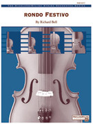 Cover icon of Rondo Festivo (COMPLETE) sheet music for string orchestra by Richard Bell