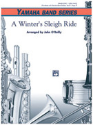 Cover icon of A Winter's Sleighride sheet music for concert band (full score) by Anonymous, beginner skill level