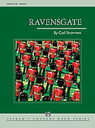 Cover icon of Ravensgate sheet music for concert band (full score) by Carl Strommen