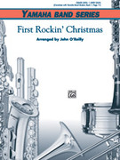 Cover icon of First Rockin' Christmas sheet music for concert band (full score) by Anonymous and John O'Reilly