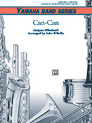 Cover icon of Can-Can sheet music for concert band (full score) by Anonymous, classical score, beginner skill level