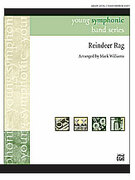 Cover icon of Reindeer Rag sheet music for concert band (full score) by Anonymous and Mark Williams