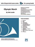 Cover icon of Olympic March sheet music for concert band (full score) by John Kinyon, beginner concert band (full score)
