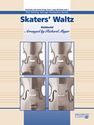 Cover icon of Skaters' Waltz sheet music for string orchestra (full score) by Anonymous and Richard Meyer