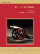 Cover icon of 1812 Overture (COMPLETE) sheet music for concert band by Pyotr Ilyich Tchaikovsky