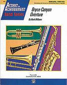 Cover icon of Bryce Canyon Overture (COMPLETE) sheet music for concert band by Mark Williams