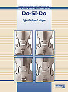 Cover icon of Do-Si-Do sheet music for string orchestra (full score) by Richard Meyer