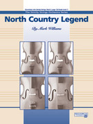 Cover icon of North Country Legend sheet music for string orchestra (full score) by Mark Williams