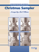 Cover icon of Christmas Sampler sheet music for string orchestra (full score) by Anonymous and Mark Williams, beginner