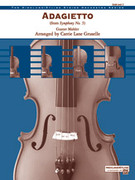 Cover icon of Adagietto from Symphony No. 5 sheet music for string orchestra (full score) by Gustav Mahler
