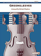 Cover icon of Greensleeves (COMPLETE) sheet music for string orchestra by Anonymous and Michael Hopkins, classical score, easy/intermediate