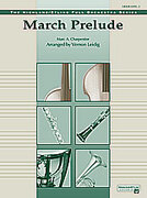 Cover icon of March Prelude sheet music for full orchestra (full score) by Marc-Antoine Charpentier