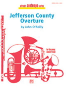 Cover icon of Jefferson County Overture sheet music for concert band (full score) by John O'Reilly