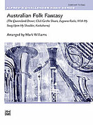 Cover icon of Australian Folk Fantasy (COMPLETE) sheet music for concert band by Anonymous and Mark Williams
