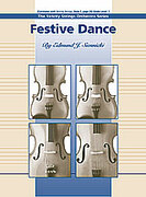 Cover icon of Festive Dance sheet music for string orchestra (full score) by Edmund J. Siennicki