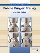 Cover icon of Fiddle Finger Frenzy sheet music for string orchestra (full score) by Mark Williams