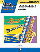Cover icon of Battle Creek March (COMPLETE) sheet music for concert band by Mark Williams