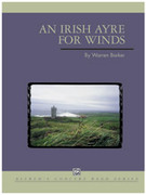 Cover icon of Irish Ayre for Winds sheet music for concert band (full score) by Warren Barker