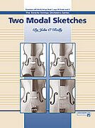 Cover icon of Two Modal Sketches sheet music for string orchestra (full score) by John O'Reilly