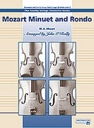 Cover icon of Mozart Minuet and Rondo sheet music for string orchestra (full score) by Wolfgang Amadeus Mozart and John O'Reilly