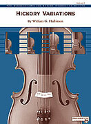 Cover icon of Hickory Variations sheet music for string orchestra (full score) by William G. Harbinson