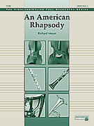 Cover icon of An American Rhapsody sheet music for full orchestra (full score) by Richard Meyer