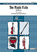 Cover icon of The Magic Flute (COMPLETE) sheet music for full orchestra by Wolfgang Amadeus Mozart and Richard Meyer, classical score, beginner orchestra