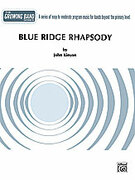 Cover icon of Blue Ridge Rhapsody sheet music for concert band (full score) by John Kinyon