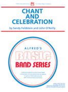 Cover icon of Chant and Celebration (COMPLETE) sheet music for concert band by Sandy Feldstein, beginner