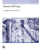 Cover icon of Korean Hill Song sheet music for concert band (full score) by Anonymous and Mark Williams