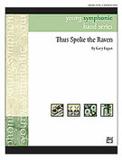 Cover icon of Thus Spoke the Raven (COMPLETE) sheet music for concert band by Gary Fagan, easy skill level