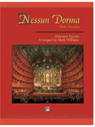 Cover icon of Nessun Dorma (COMPLETE) sheet music for concert band by Giacomo Puccini and Mark Williams