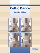 Cover icon of Celtic Dance sheet music for string orchestra (full score) by Mark Williams, beginner
