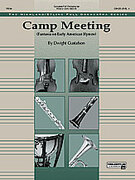Cover icon of Camp Meeting sheet music for full orchestra (full score) by Dwight Gustafson