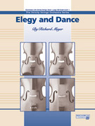 Cover icon of Elegy and Dance sheet music for string orchestra (full score) by Richard Meyer, beginner
