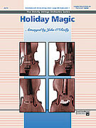 Cover icon of Holiday Magic sheet music for string orchestra (full score) by Anonymous, beginner