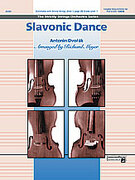 Cover icon of Slavonic Dance (COMPLETE) sheet music for string orchestra by Antonin Dvorak, Antonin Dvorak and Richard Meyer