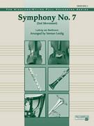 Cover icon of Symphony No. 7 sheet music for full orchestra (full score) by Ludwig van Beethoven and Vernon Leidig, classical score, easy/intermediate