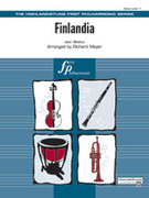 Cover icon of Finlandia sheet music for full orchestra (full score) by Jean Sibelius and Richard Meyer, classical score, beginner