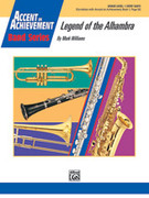 Cover icon of Legend of the Alhambra (COMPLETE) sheet music for concert band by Mark Williams, beginner