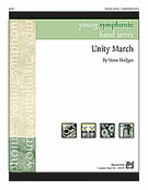 Cover icon of Unity March (COMPLETE) sheet music for concert band by Steve Hodges, easy