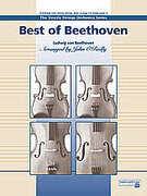 Cover icon of Best of Beethoven sheet music for string orchestra (full score) by Ludwig van Beethoven and John O'Reilly, classical score, easy orchestra