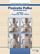 Cover icon of Pizzicato Polka sheet music for string orchestra (full score) by Leo Delibes