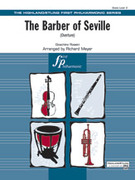 Cover icon of The Barber of Seville (COMPLETE) sheet music for full orchestra by Gioacchino Rossini, classical score, easy skill level