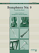 Cover icon of Symphony No. 9, Fourth Movement sheet music for full orchestra (full score) by Ludwig van Beethoven