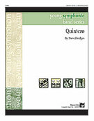 Cover icon of Quintero sheet music for concert band (full score) by Steve Hodges, easy