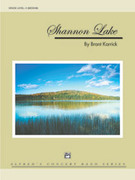 Cover icon of Shannon Lake sheet music for concert band (full score) by Brant Karrick