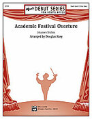 Cover icon of Academic Festival Overture sheet music for concert band (full score) by Johannes Brahms