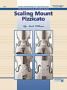 Cover icon of Scaling Mount Pizzicato sheet music for string orchestra (full score) by Mark Williams